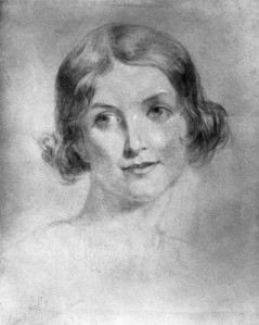 Thomas Uwins, Frances Maria Kelly. Chalk, 1822 (National Portrait Gallery)